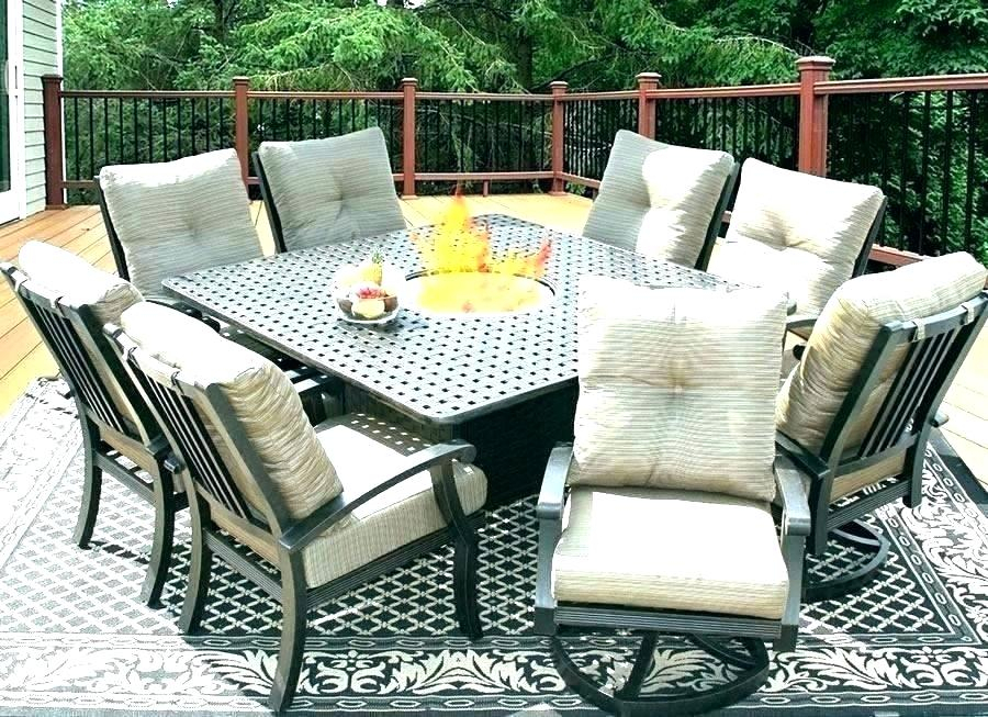 Patio Furniture Dimensions – Findvine (View 15 of 25)