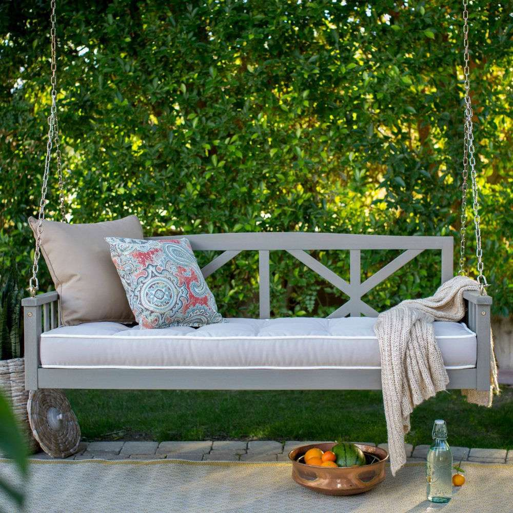 Patio Furniture Ideas Design Picture Outdoor Decorative For Outdoor Porch Swings (View 6 of 25)