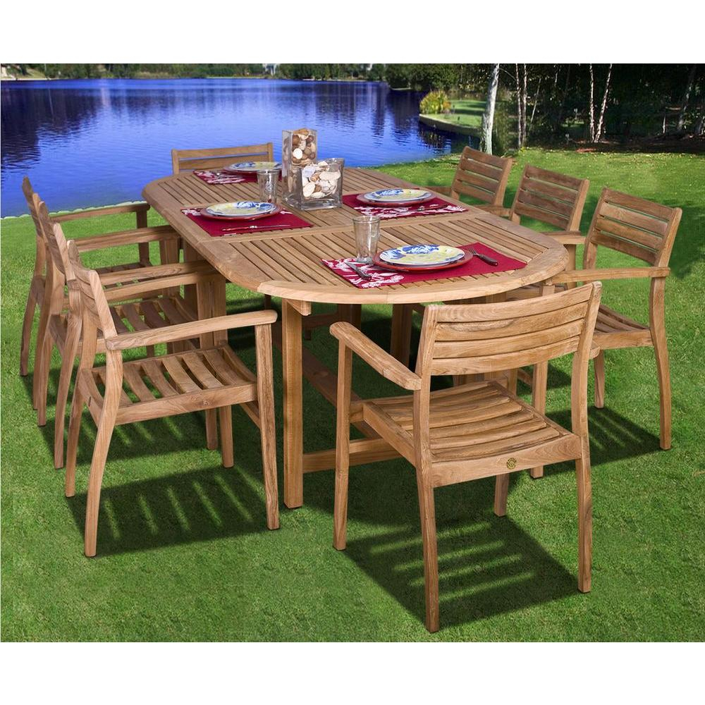 Patio Rectangular Dining Table Teak Ia Coventry Piece Set Sc Pertaining To Teak Outdoor Glider Benches (View 12 of 25)