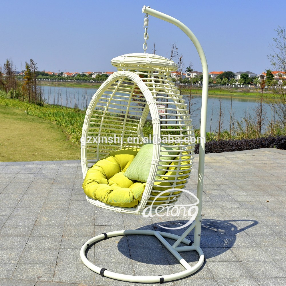 Pe Rattan Garden Hanging Egg Chair Cheap Price Patio Leaf Design Outdoor Swing Chair – Buy Wicker Hanging Swing Chair,cheap Wicker Rattan Chair With Rattan Garden Swing Chairs (View 8 of 25)