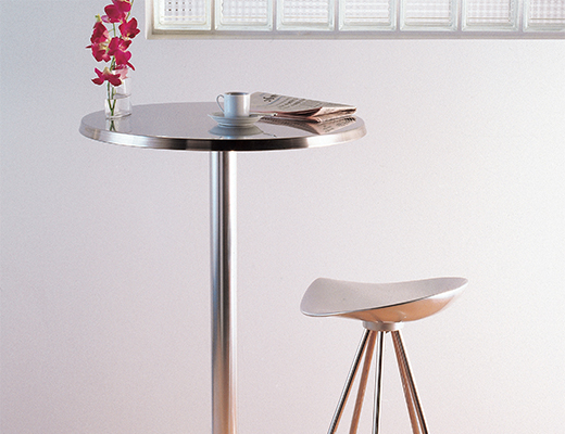 Pensi Table | Knoll Pertaining To Long Dining Tables With Polished Black Stainless Steel Base (View 21 of 25)