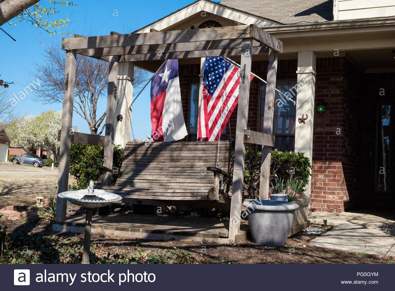 Pin On Stock Photosjudi Saunders Pertaining To American Flag Porch Swings (View 7 of 25)