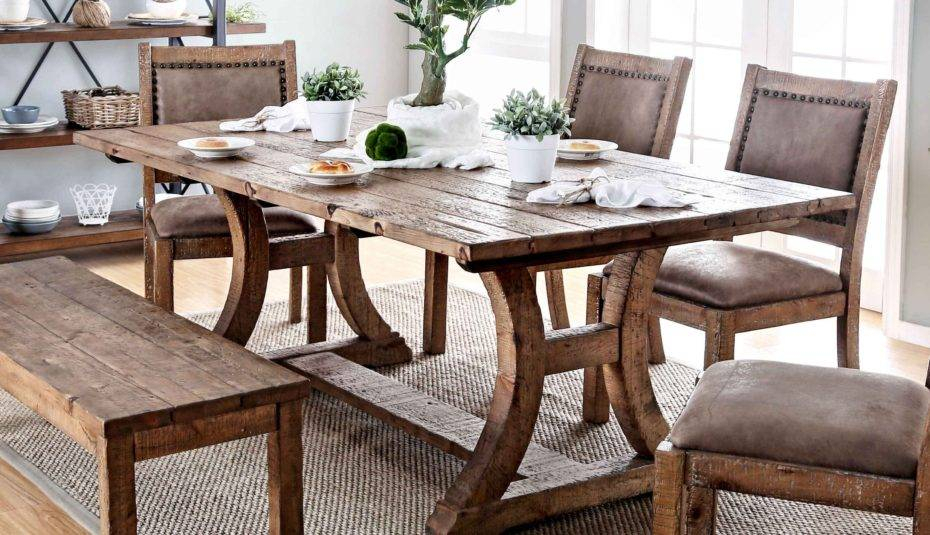 Pine Dining Room Furniture Tables Chairs Table Sets Round With Rustic Pine Small Dining Tables (View 4 of 25)