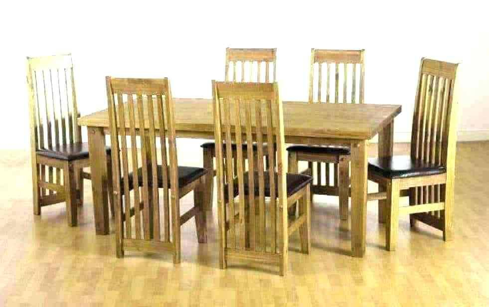 Pine Dining Room Set Table And Chairs Round Light Furniture With Regard To Rustic Pine Small Dining Tables (View 10 of 25)