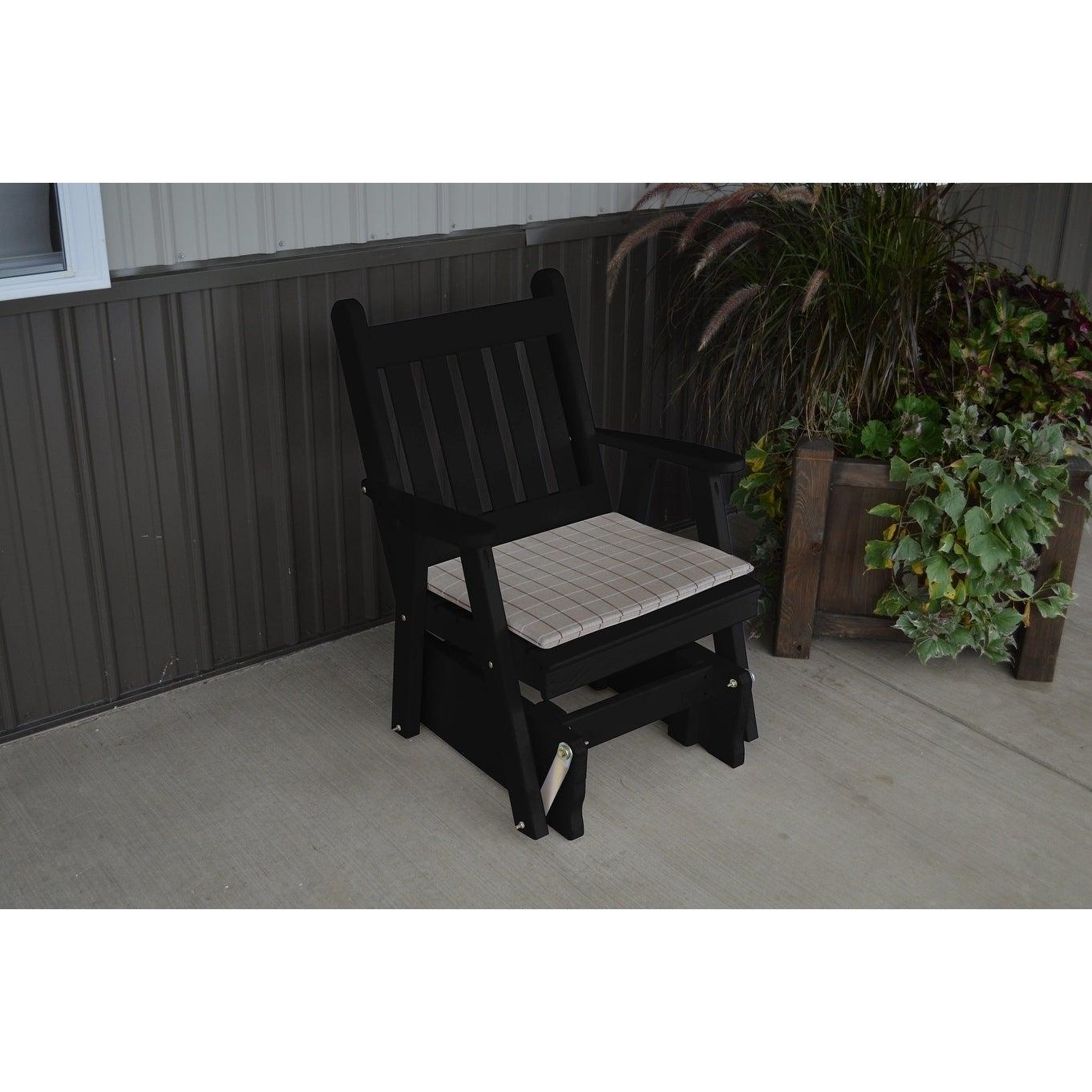 Pine Traditional English Gliding Chair Intended For Traditional English Glider Benches (View 15 of 25)