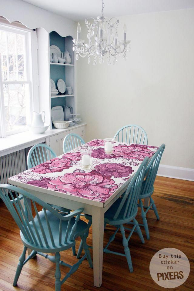 Pink & White • Dining Room – Provencal • Pixers® • We Live With Provence Accent Dining Tables (Image 16 of 25)