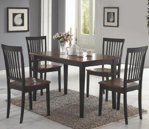 Pinmichelle Lipani On Apartment | Dining Room Furniture With Coaster Contemporary 6 Seating Rectangular Casual Dining Tables (View 8 of 25)