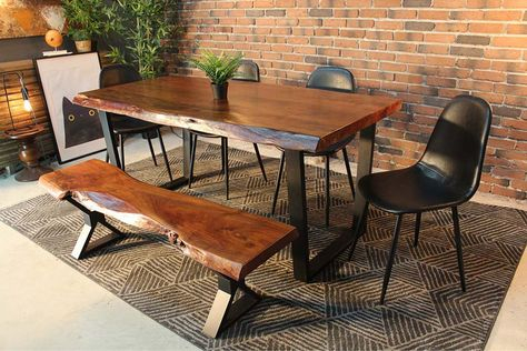 Pinterest – Пинтерест In Acacia Dining Tables With Black Legs (View 8 of 25)