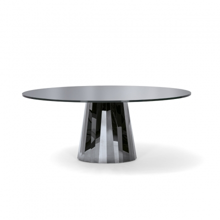 Pli Table – Classicon En With Regard To Long Dining Tables With Polished Black Stainless Steel Base (View 17 of 25)