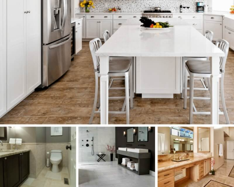 Popular Marble Floor Finishes: Polished, Honed, And Tumbled For Thick White Marble Slab Dining Tables With Weathered Grey Finish (View 23 of 25)