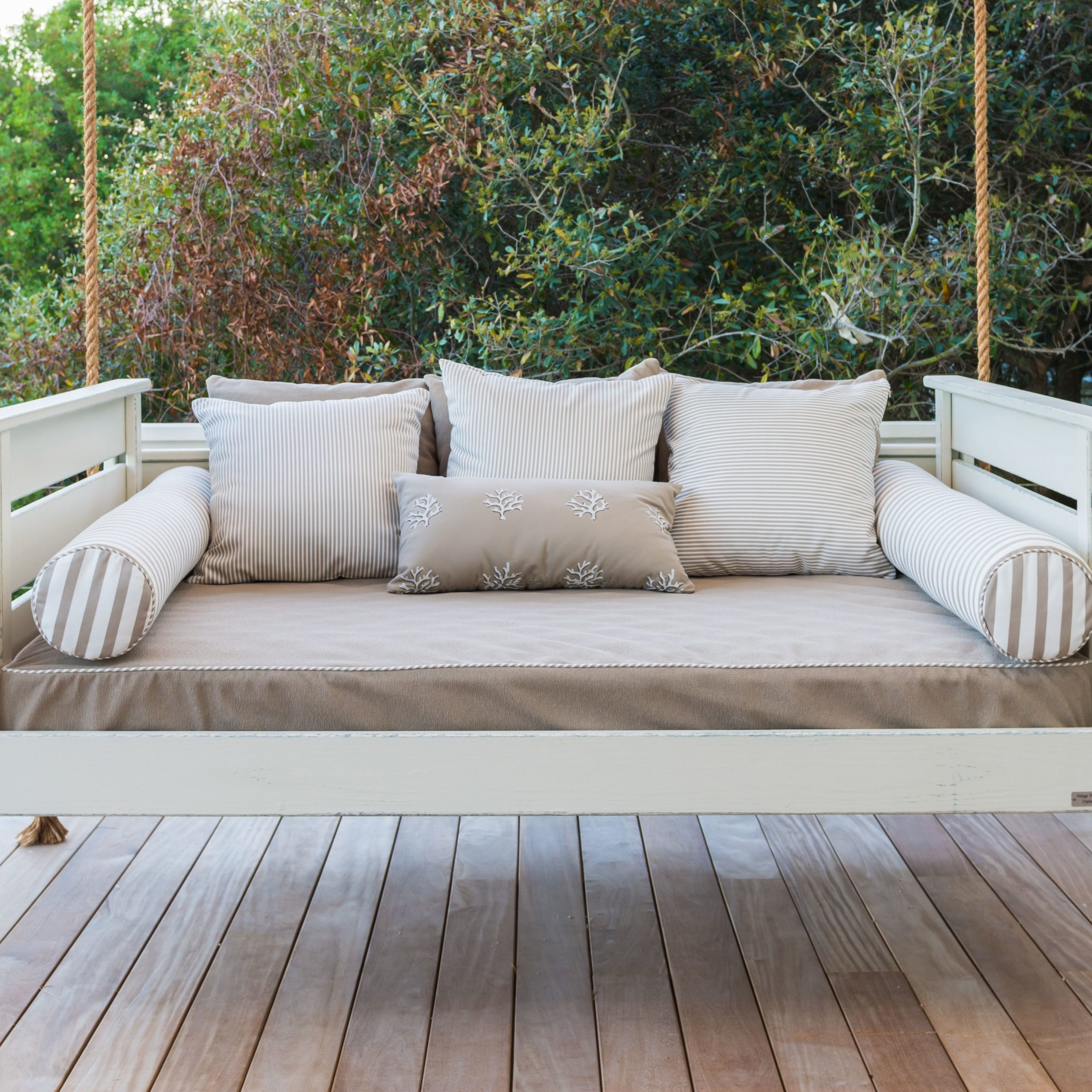 Porch Swing Inspiration For Free Standing Porch Swing Pertaining To Hardwood Hanging Porch Swings With Stand (View 8 of 25)