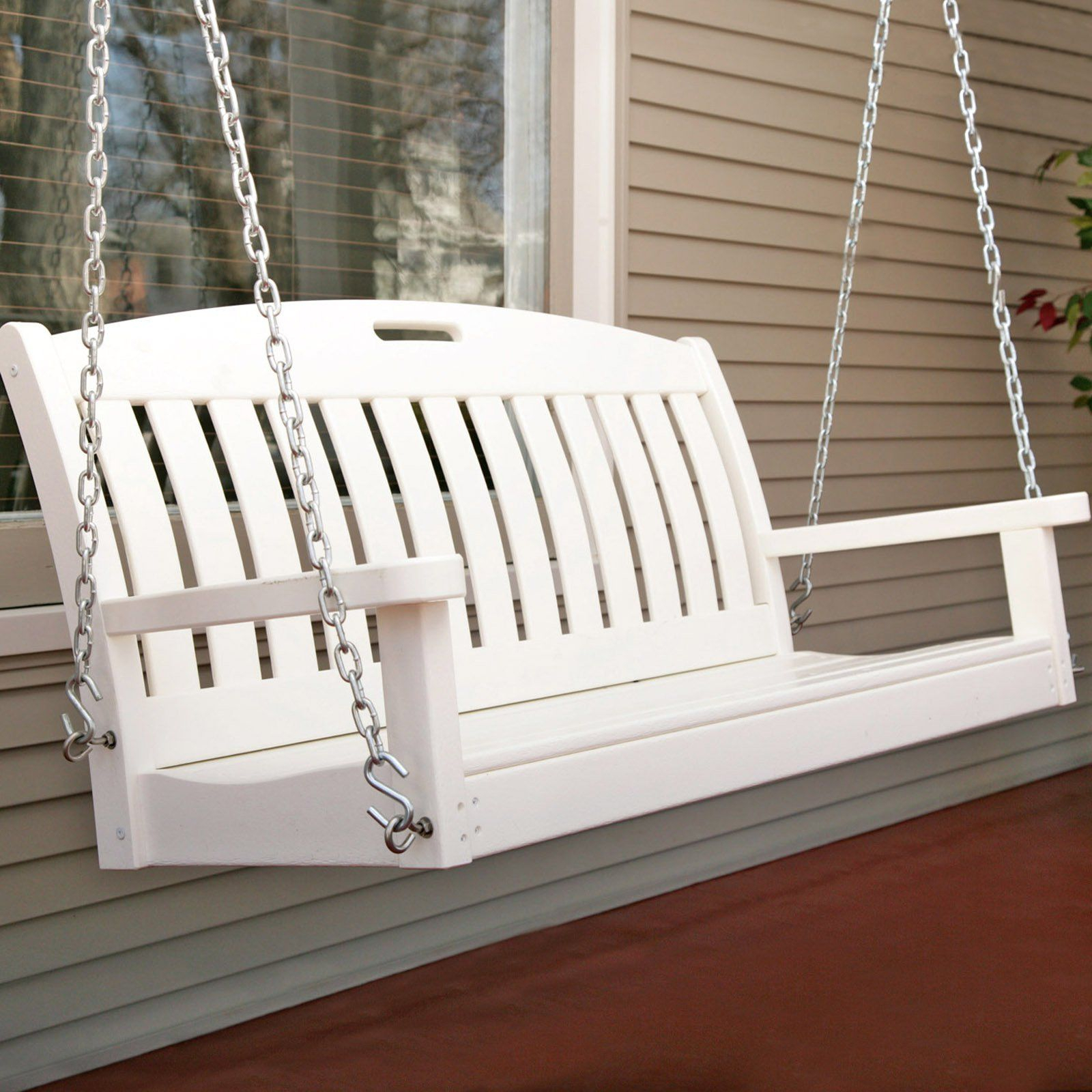 Porch Swing: Polywood 4 Ft (View 16 of 25)