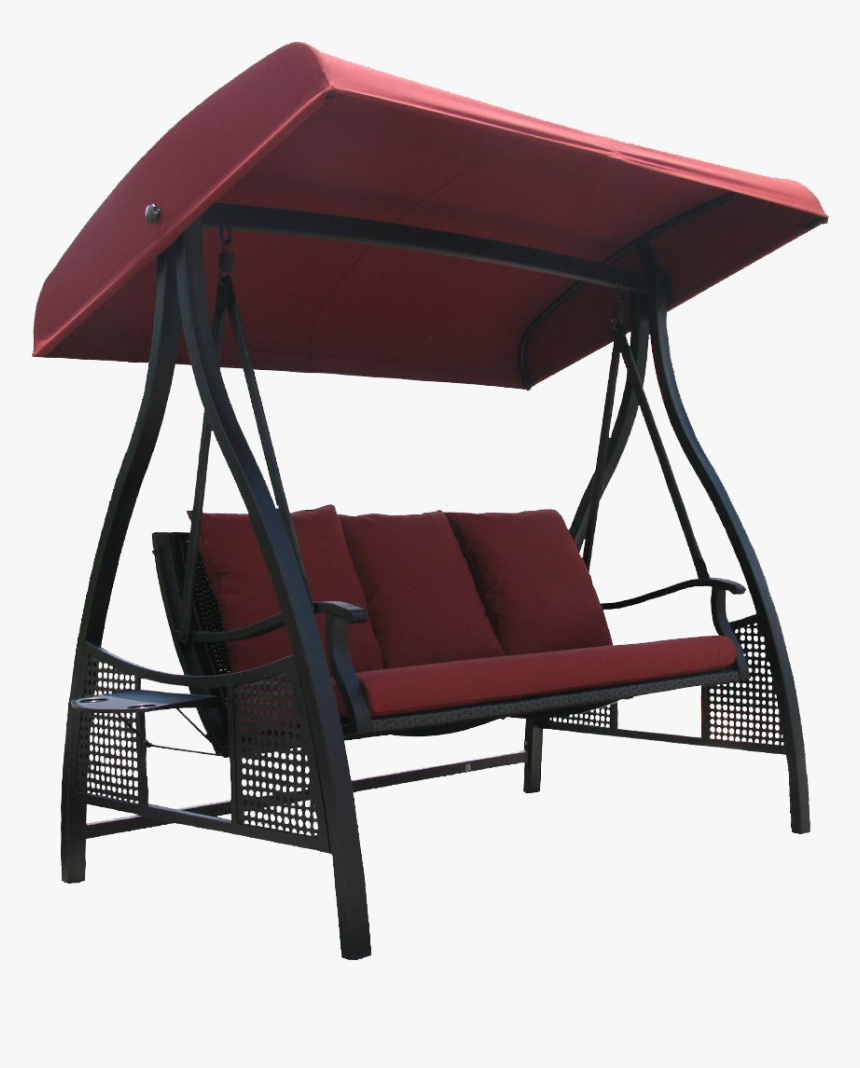 Porch Swing With Canopy , Png Download – 3 Person Outdoor Regarding Porch Swings With Canopy (View 16 of 25)