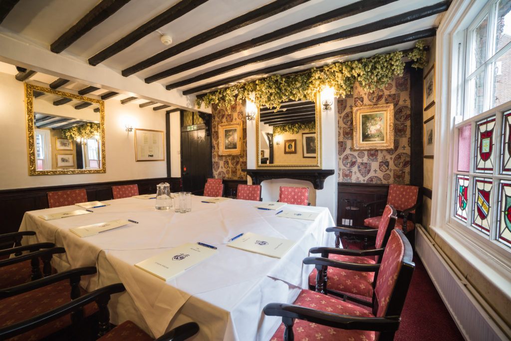 Private Dining – The Mermaid Inn Intended For Acacia Dining Tables With Black Victor Legs (Image 16 of 25)