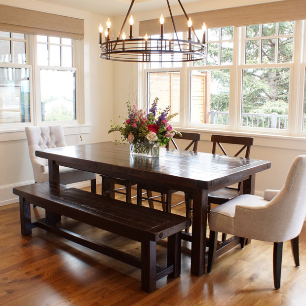 Provençal Dining Table In Calgary, Alberta / Liken Woodworks For Provence Accent Dining Tables (Image 17 of 25)
