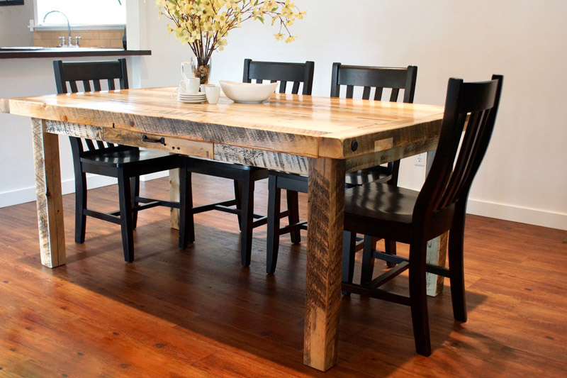 Provençal Dining Table In Calgary, Alberta / Liken Woodworks Pertaining To Provence Accent Dining Tables (Image 18 of 25)
