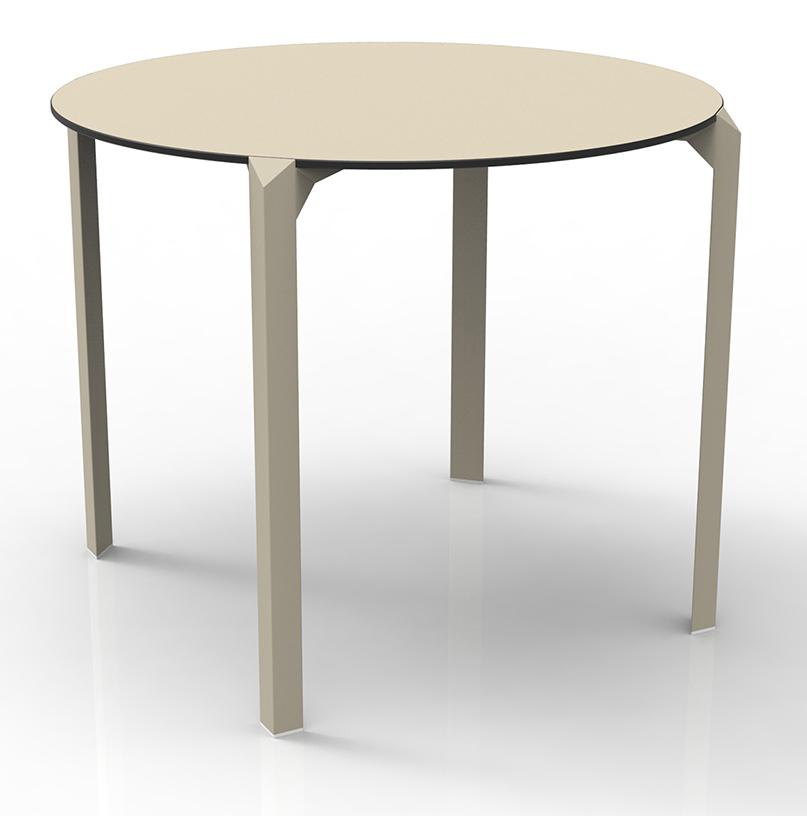 Quartz Round Dinning Tablevondom In Dining Tables Within Dom Round Dining Tables (View 18 of 25)