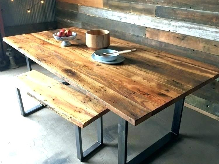 Reclaimed Wood Dining Table Round – In2Music (View 24 of 25)