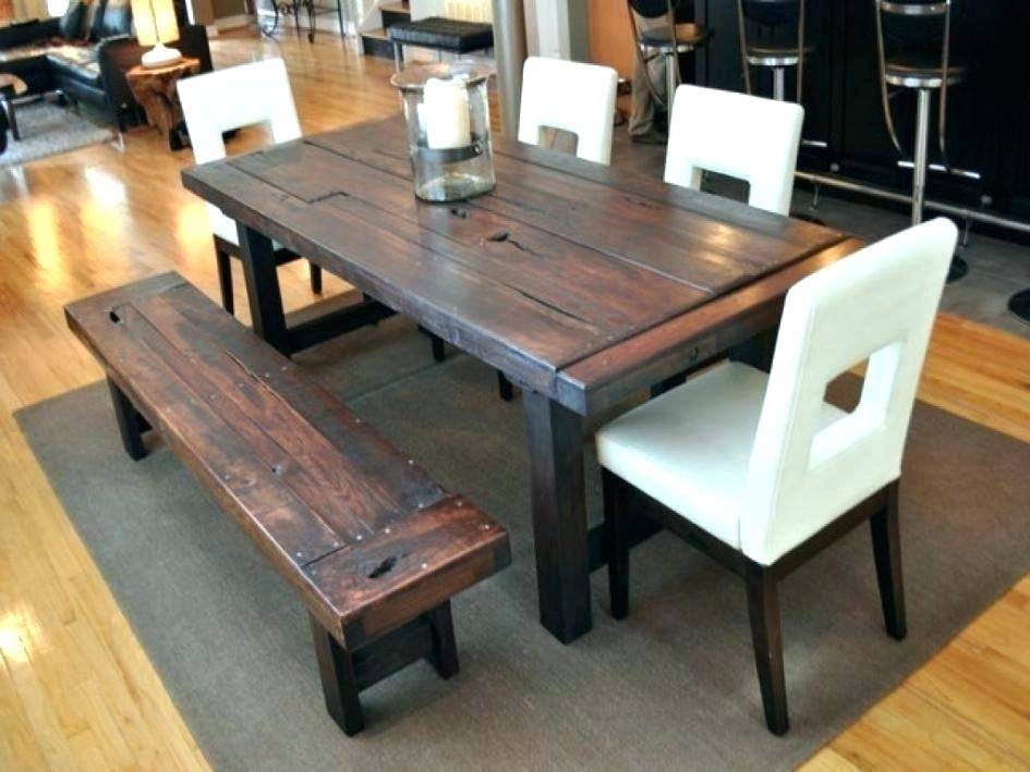 Reclaimed Wood Round Dining Table And Chairs Set Barn Style In Small Round Dining Tables With Reclaimed Wood (View 23 of 25)