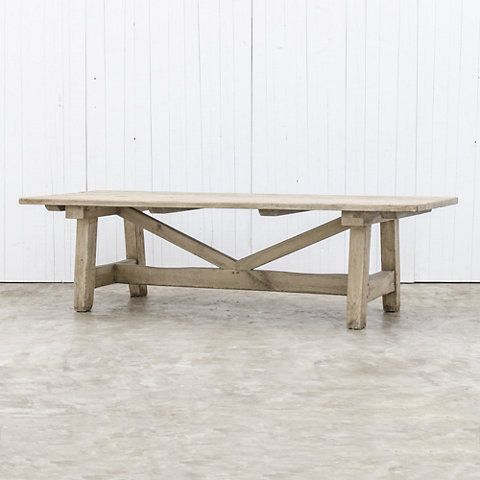 Refectory Work Table – Dining Tables – Furniture – Products Regarding Transitional 8 Seating Rectangular Helsinki Dining Tables (Image 17 of 25)