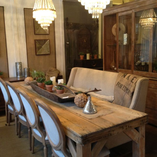 Refinished & Sun Bleached Antique Pine Harvest/farm Dining For Country Dining Tables With Weathered Pine Finish (Image 19 of 25)