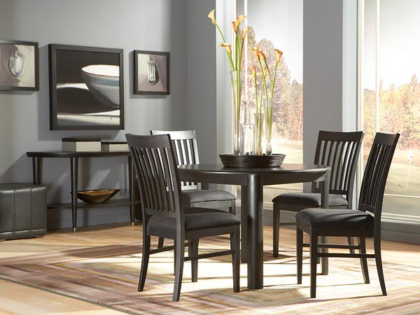 Rent The Eclipse Round Dining Table | Cort Furniture Rental Intended For Eclipse Dining Tables (View 4 of 25)