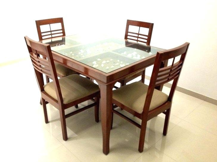 Retro Round Glass Top Dining Table Set – Cricketprediction (Image 17 of 25)