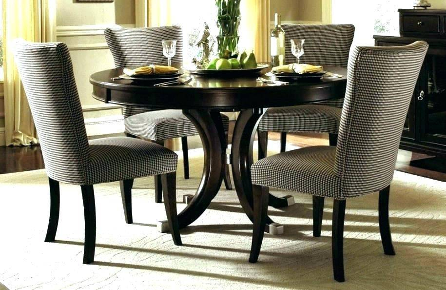 Retro Round Glass Top Dining Table Set Room Dinette Sets With Retro Round Glasstop Dining Tables (Image 18 of 25)