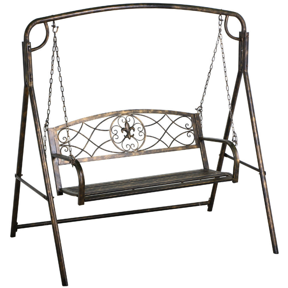 Review: The 7 Best Patio And Porch Swing Stands – Wooden And Inside Plain Porch Swings (View 19 of 25)