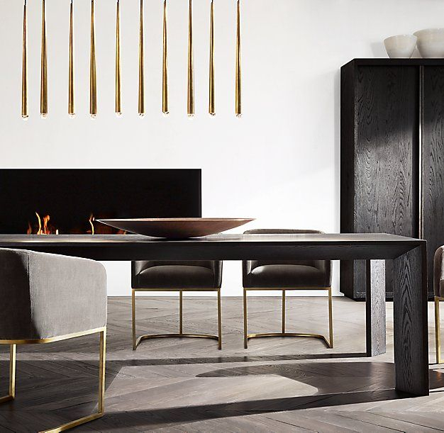 Rh Modern's Arles Rectangular Dining Table:introduced In With Contemporary Rectangular Dining Tables (View 20 of 25)