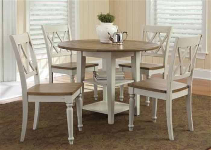 Ridge Home Furnishings: Buffalo & Amherst, Ny: Furniture With Transitional 3 Piece Drop Leaf Casual Dining Tables Set (View 13 of 25)