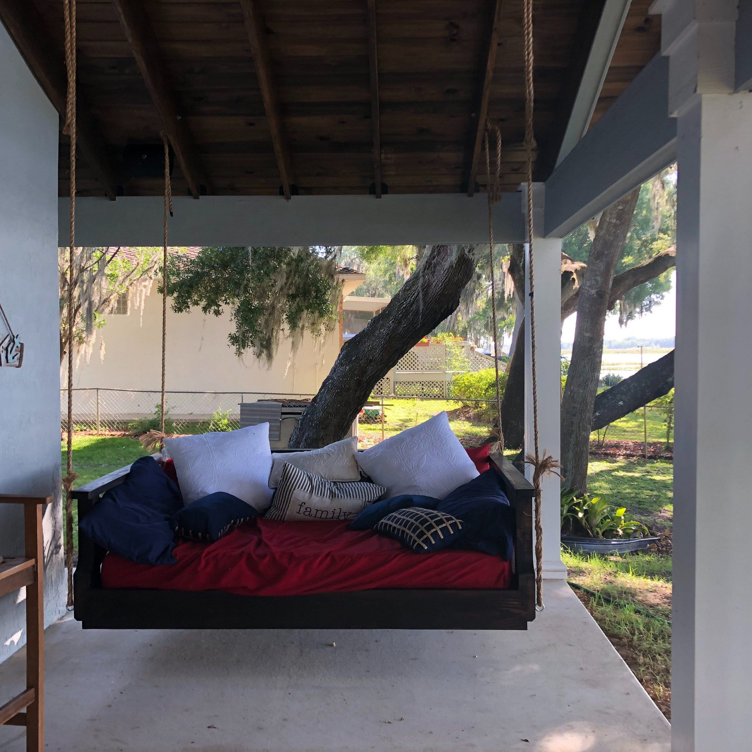 Ridgidbuilt Mission Custom Bed Swing, Daybed Swing ,pin My Within Country Style Hanging Daybed Swings (View 5 of 25)