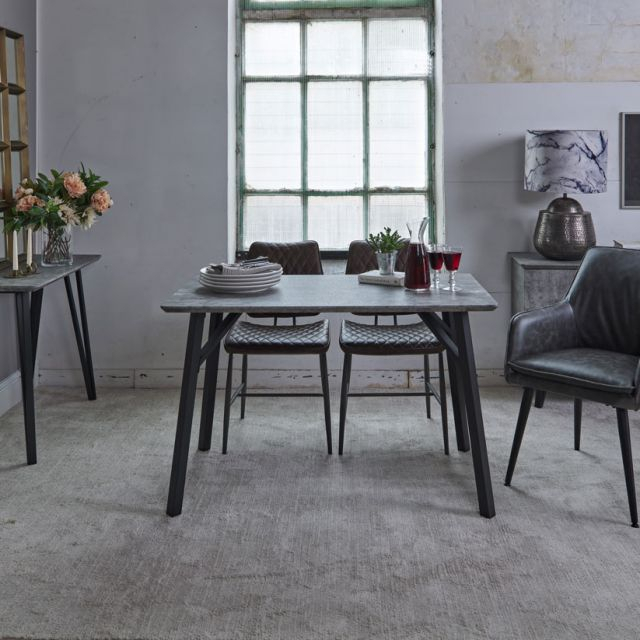 Rocca Rectangular Dining Table 120Cm With Rectangular Dining Tables (View 24 of 25)