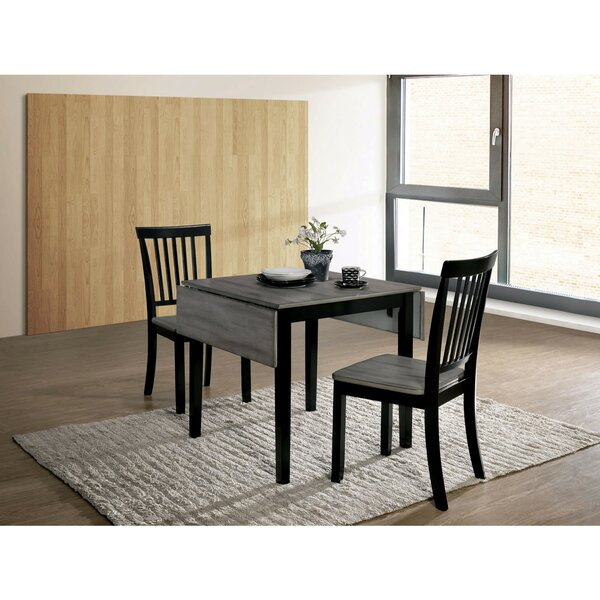 Rockaway 6 Piece Extendable Solid Wood Dining Set 2019 Sale Intended For Transitional 3 Piece Drop Leaf Casual Dining Tables Set (View 2 of 25)