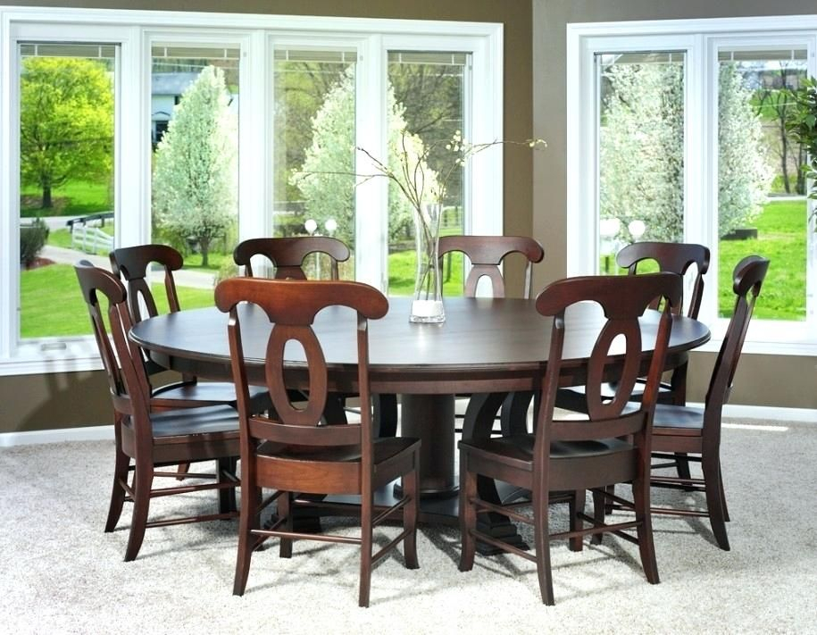 Round Dining Room Tables For 6 8 – Http://www (View 6 of 25)