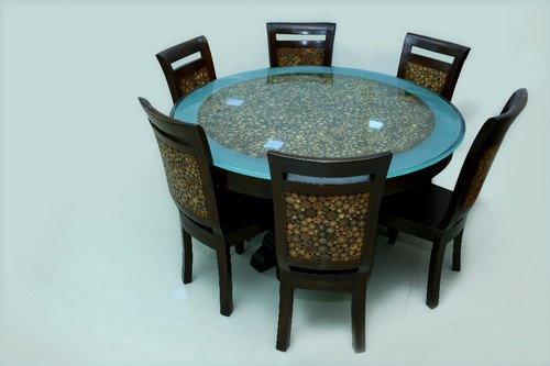 Round Dining Table Set In Round Dining Tables With Glass Top (View 18 of 25)