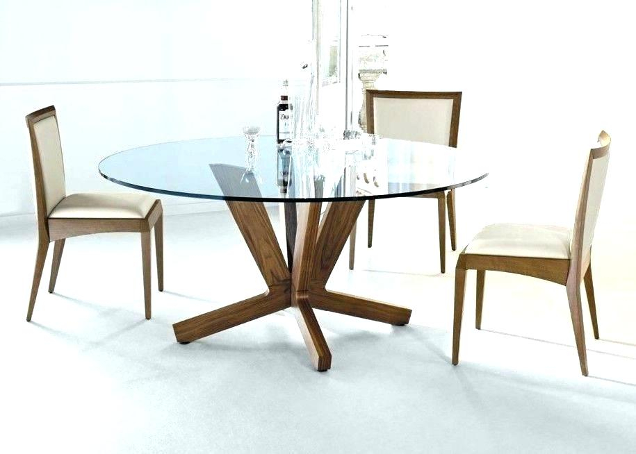Round Glass Dining Set – Insidestories Throughout Round Glass Top Dining Tables (View 12 of 26)