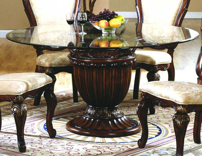 Featured Image of Round Dining Tables With Glass Top