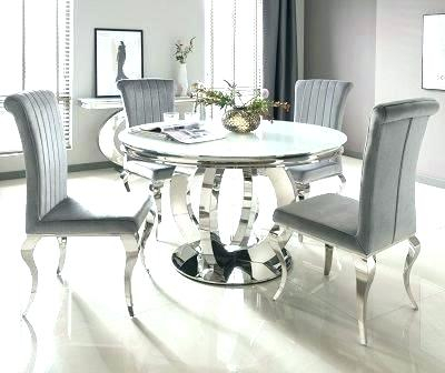 Round Glass Top Dining Set – Insidestories Within Round Glass Top Dining Tables (View 23 of 26)