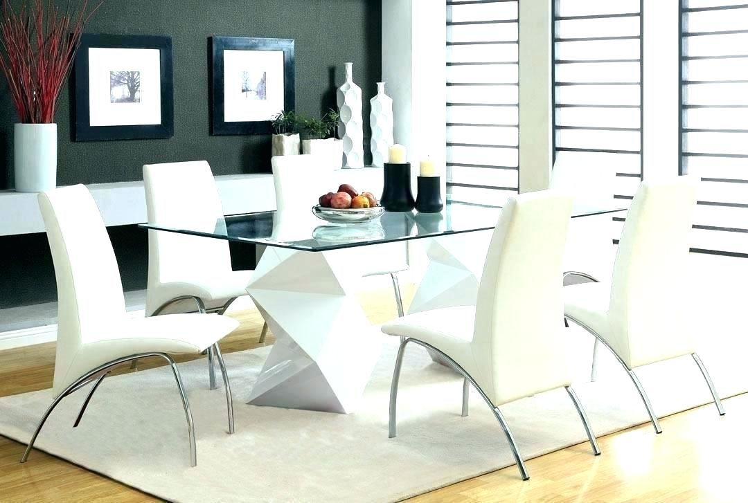 Round Glass Top Dining Table And Chairs – Stichling In Modern Round Glass Top Dining Tables (Image 20 of 25)