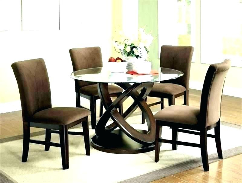 Round Glass Top Dining Tables – Kermitslape (Image 23 of 25)