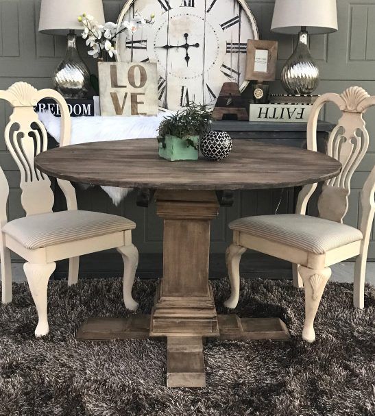 Round Pedestal Dining Table | Kitchen Tables In 2019 | Round In Dom Round Dining Tables (Image 24 of 25)