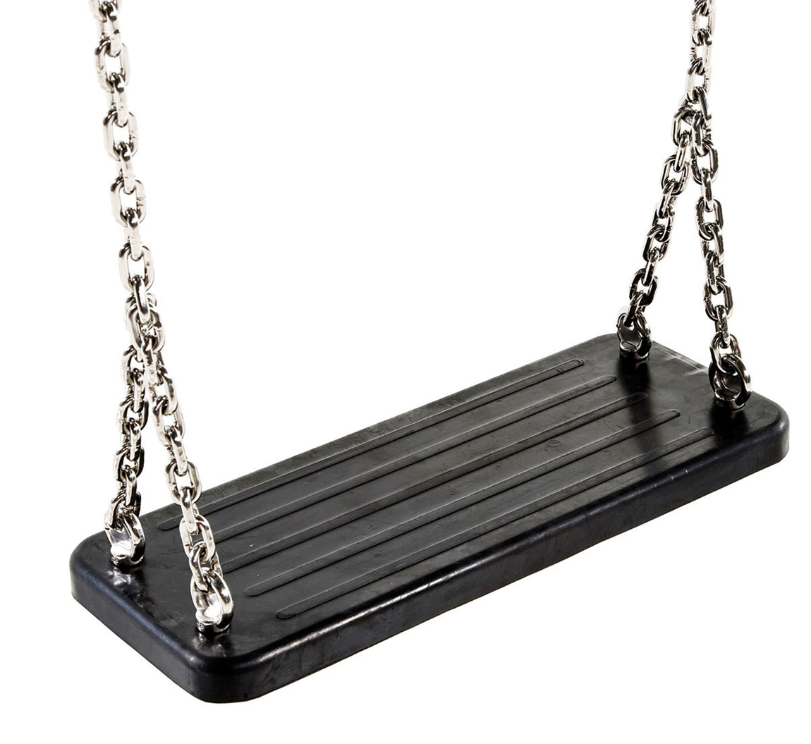 Rubber Swing Seat With Steel Chains | Heavy Duty Rubber Within Swing Seats With Chains (View 4 of 25)