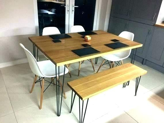 Rustic Industrial Dining Room Table Industr Dining Room With Regard To Small Rustic Look Dining Tables (Image 18 of 25)