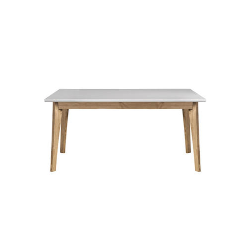 Rustic Mid Century Modern Jackie 6 Seating White & Natural Pertaining To Rustic Mid Century Modern 6 Seating Dining Tables In White And Natural Wood (View 2 of 25)