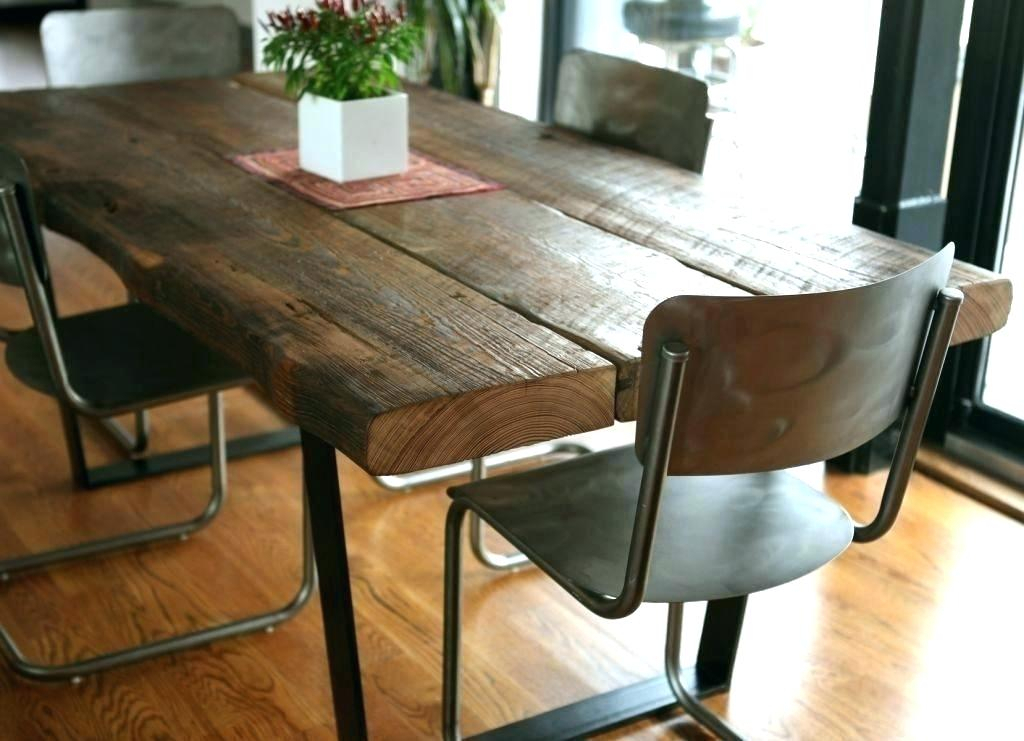 Salespots – Dining Table Regarding Iron Wood Dining Tables (View 17 of 25)