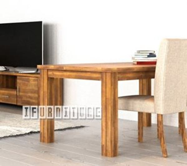 Sara 180 Dining Table *solid Acacia Regarding Solid Acacia Wood Dining Tables (Image 15 of 25)