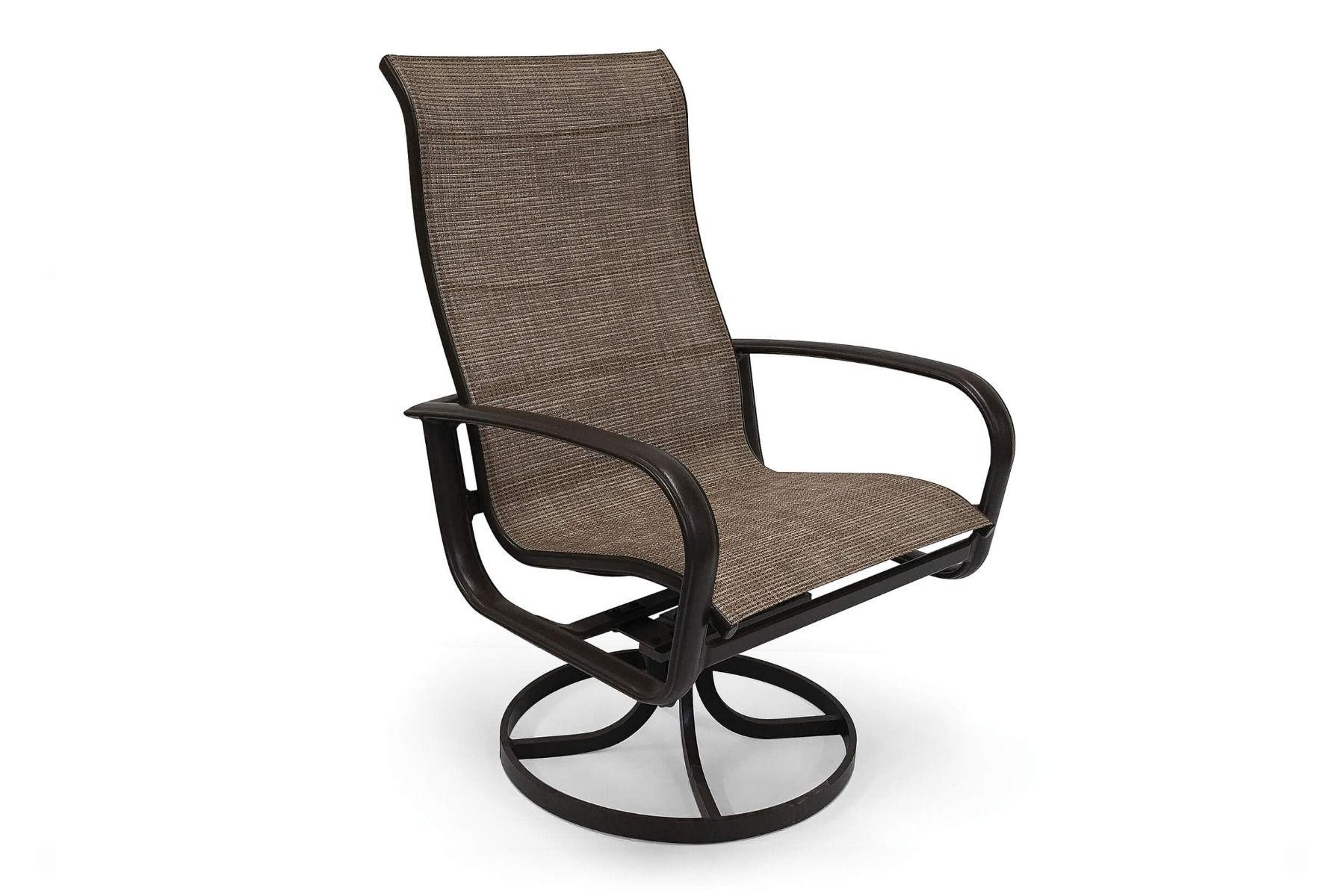 Savoy Sling Ultimate High Back Swivel Tilt Dining Chair (2Pk) Inside Sling High Back Swivel Chairs (View 19 of 25)