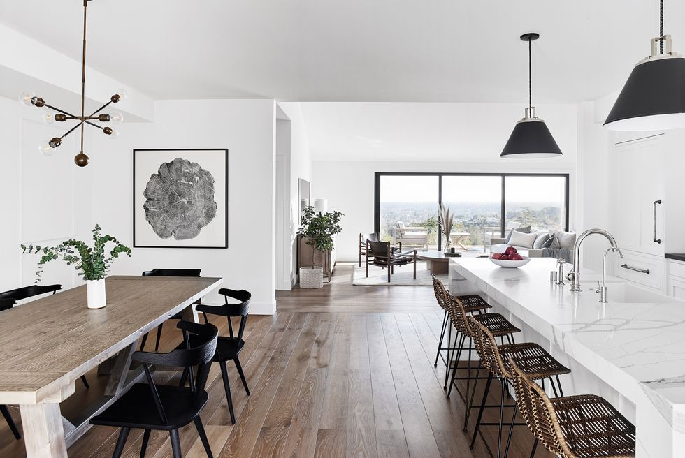 Scandinavian Design Trends – Best Nordic Decor Ideas With Rustic Mid Century Modern 6 Seating Dining Tables In White And Natural Wood (View 13 of 25)