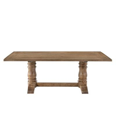 Seats 8 – Kitchen & Dining Tables – Kitchen & Dining Room Pertaining To Rustic Country 8 Seating Casual Dining Tables (View 20 of 25)